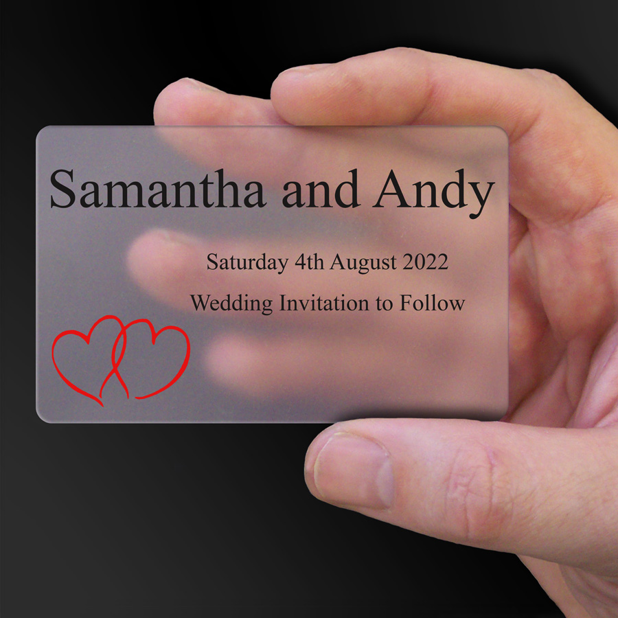 Save The Date Card Example 42
