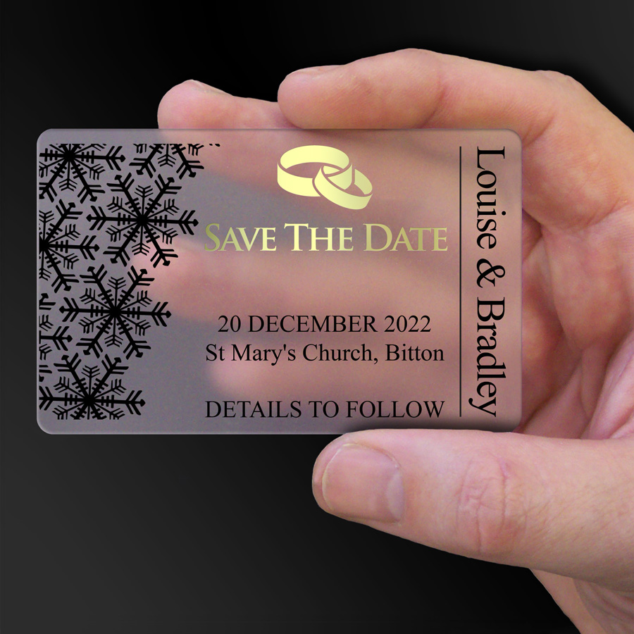 Save The Date Card Example 43