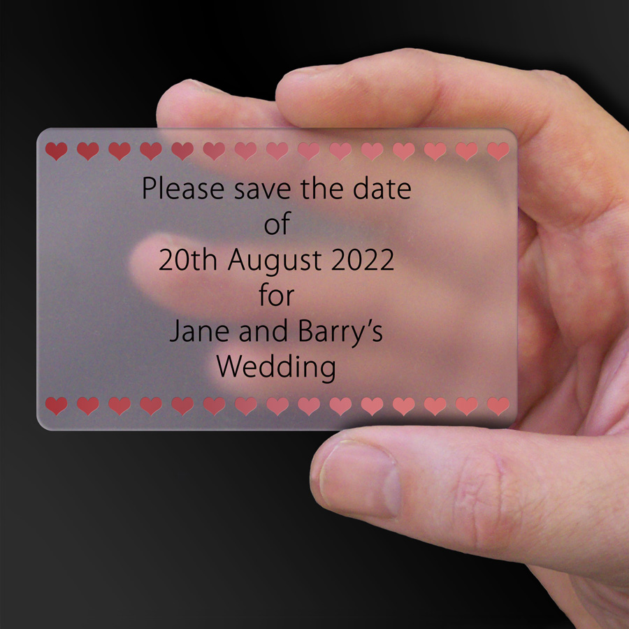 Save The Date Card Example 46