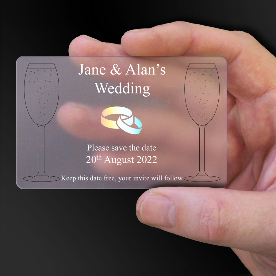 Save The Date Card Example 48