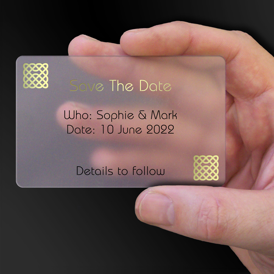 Save The Date Card Example 51