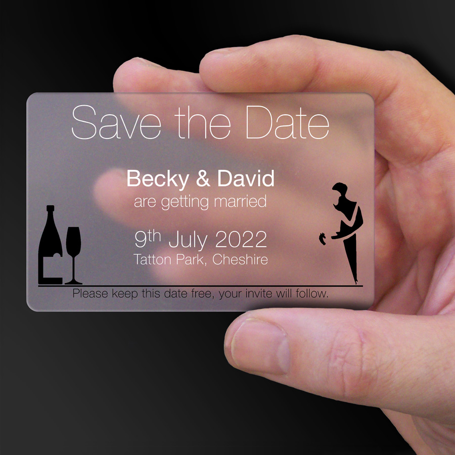 Save The Date Card Example 52