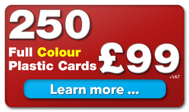 250 plastic cards for £99