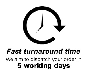 fast turnaround time, just 5 working days