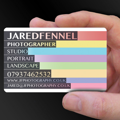 Plastic Cards for Jaredfennel is design of the week