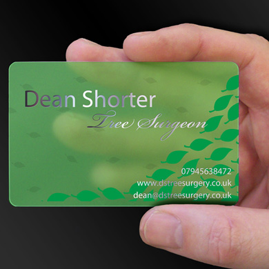 Dean Shorter - tree surgeon is design of the week