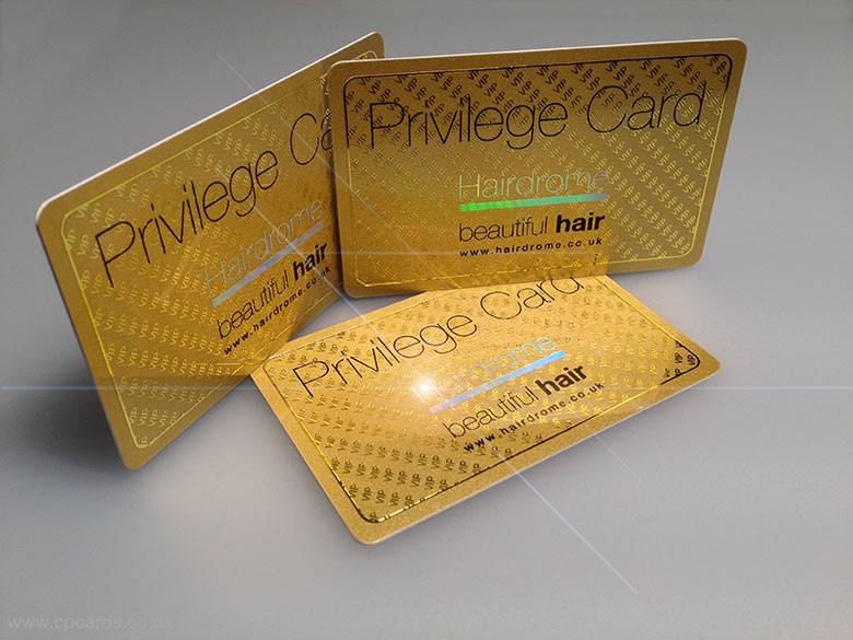 Plastic Cards for Hair Drome is design of the week