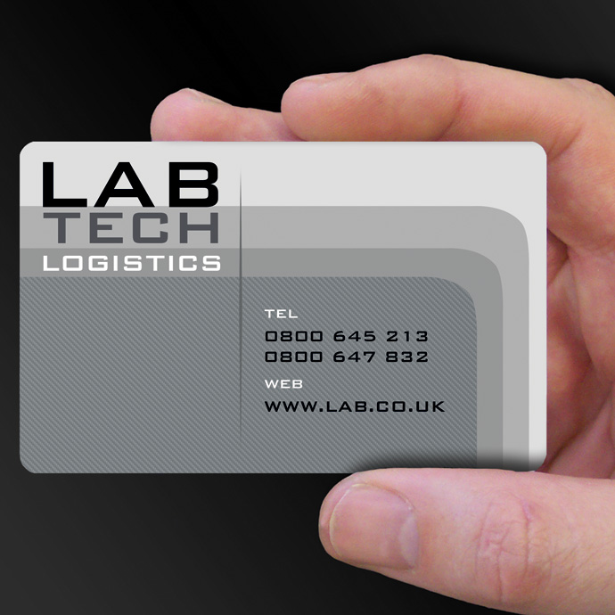 Plastic card examples cpcards plastic cards for lab tech is design of the week reheart Choice Image