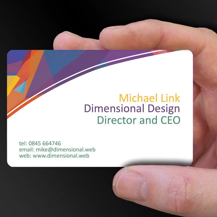 Plastic Cards for Michael Link is design of the week